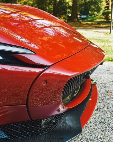 Ferrari Monza SP2 rosso oro
