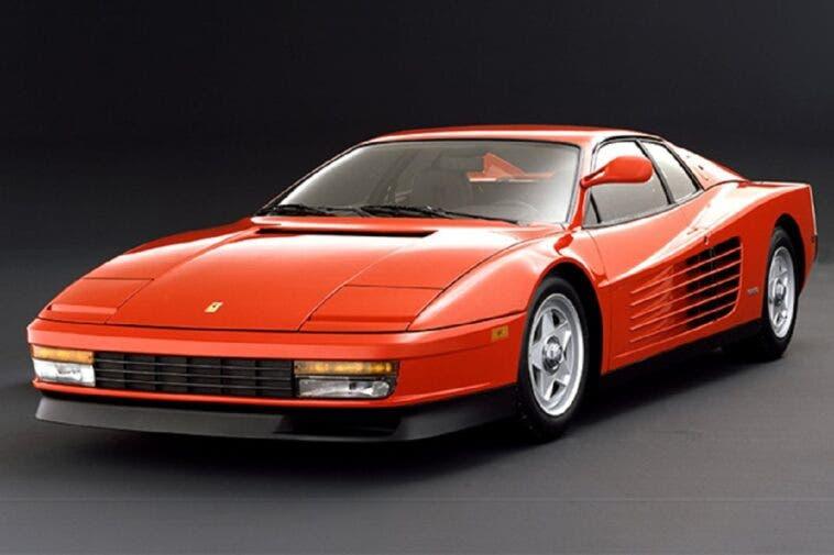 Ferrari Testarossa modellino