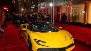 Ferrari centro Tailor Made New York