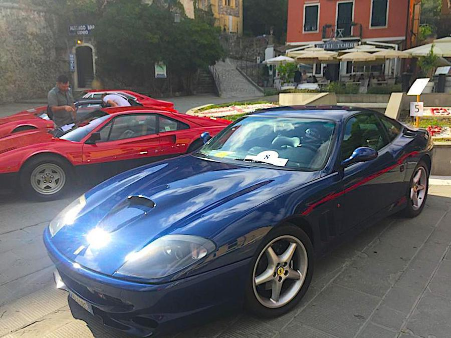 Ferrari manifestazione Golfo dei Poeti