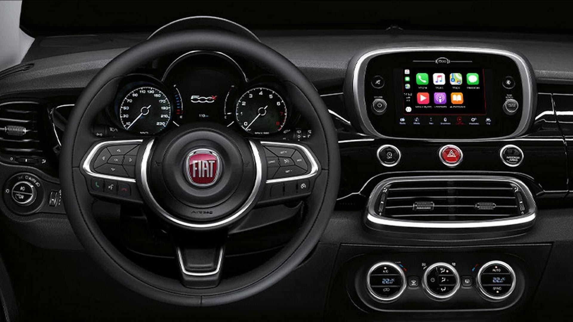 Fiat 500X 120th Anniversary Edition interni