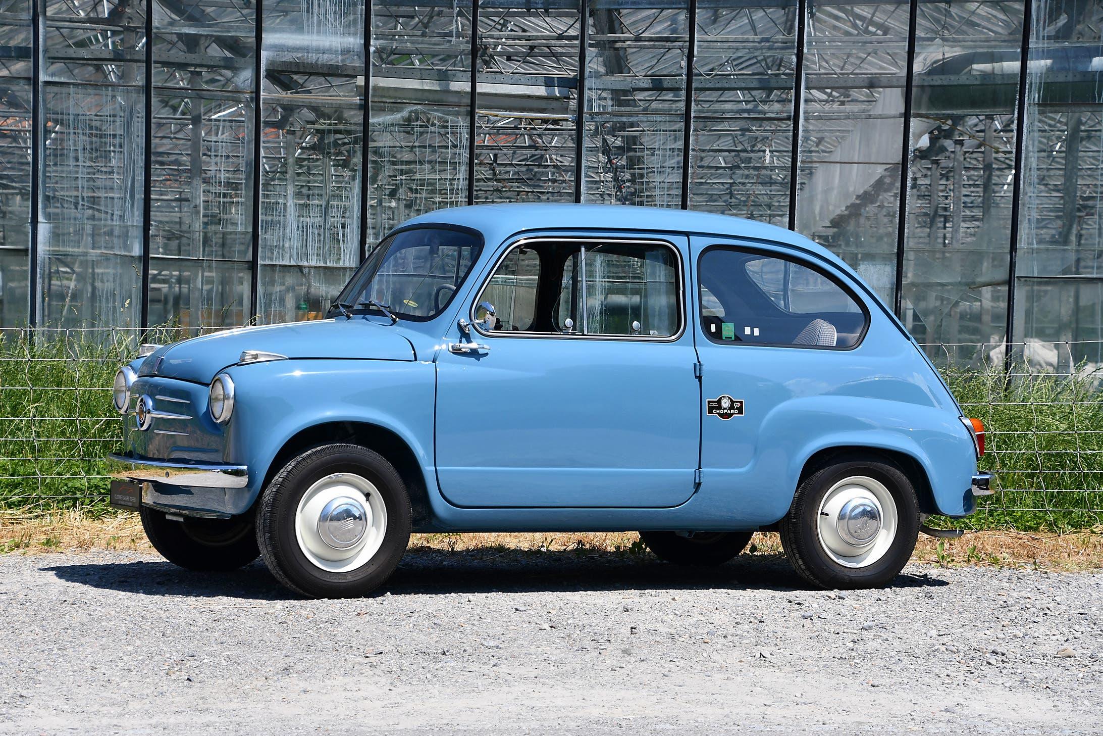 Fiat 600 1955 Oldtimer Galerie Toffen asta