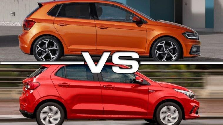 Fiat Argo e Volkswagen Polo