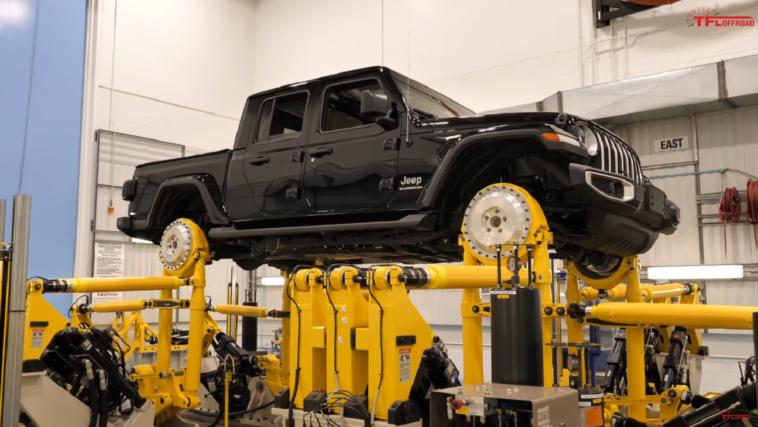 Jeep Gladiator test Windsor