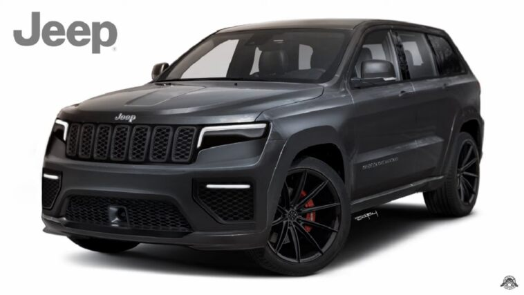 Jeep Grand Cherokee 2021 render