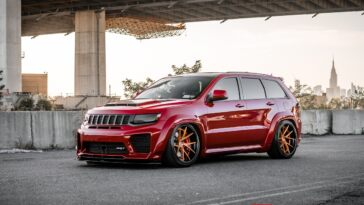 Jeep Grand Cherokee SRT8 Ferrada