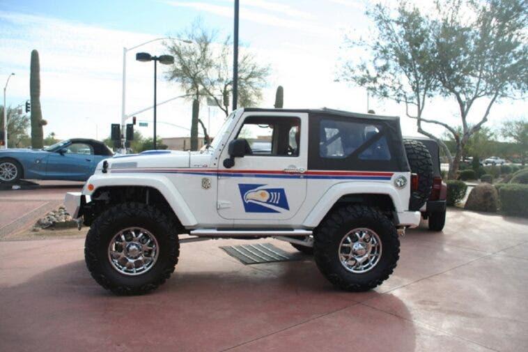 Jeep Wrangler USPS richiamo