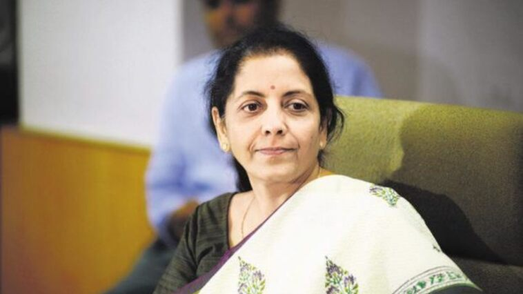 Il ministro India Nirmala Sitharaman