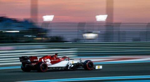 Alfa Romeo Racing Abu Dhabi