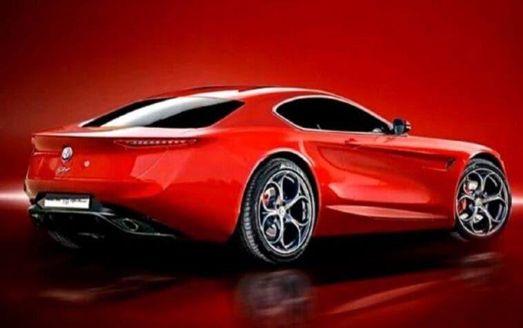 Alfa Romeo 6C progetto render