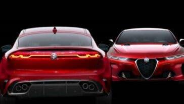 Alfa Romeo Giulia Quadrifoglio 2021 render