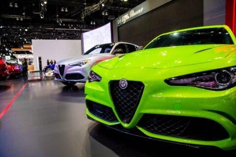 Alfa Romeo Giulia Quadrifoglio verde neon