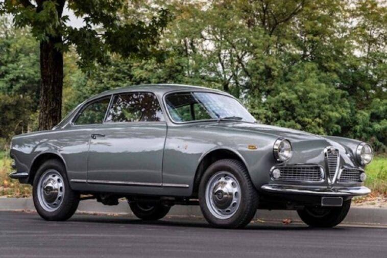 Alfa Romeo Giulia Sprint 1962 asta
