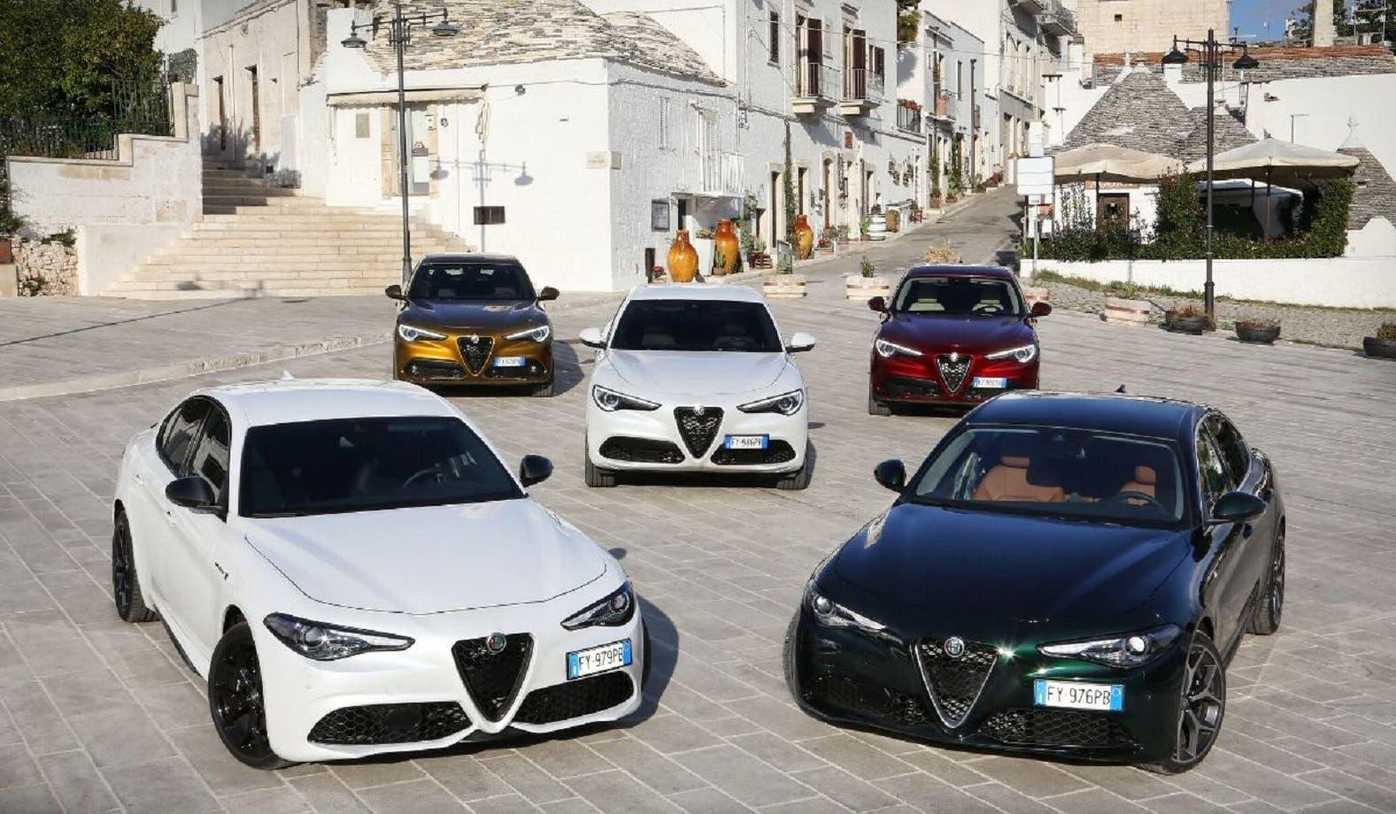 Alfa Roemo Giulia e Stelvio MY 2020