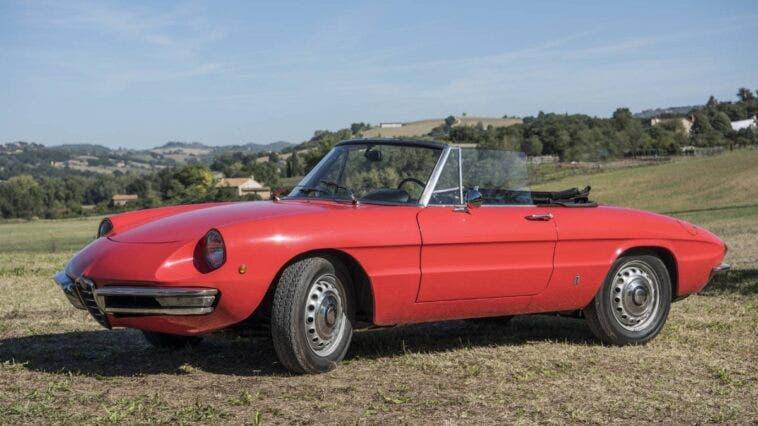Alfa Romeo Spider 1300 Junior 1968 asta