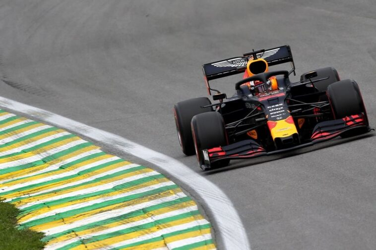 Verstappen a Interlagos