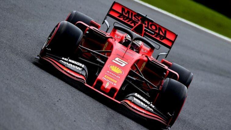 Sebastian Vettel in Brasile