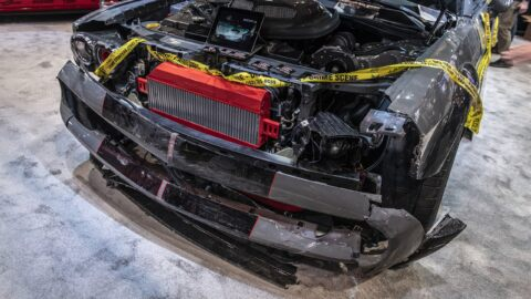 Dodge Challenger 1000 CV rubata
