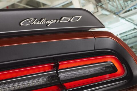 Dodge Challenger 50th Anniversary Edition