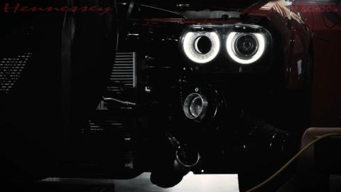 Dodge Challenger Demon biturbo Hennessey