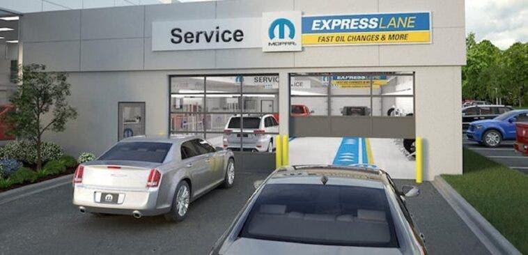 FCA Mopar Express Lane