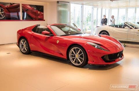 Ferrari 812 GTS Sydney