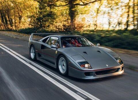 Ferrari F40 Gunmetal Grey