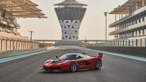 Ferrari FXX-K Rosso Corsa asta