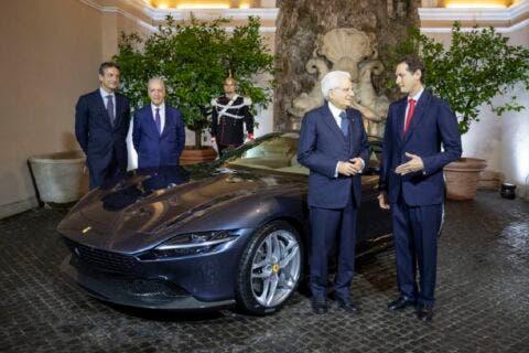 Ferrari Roma Sergio Mattarella