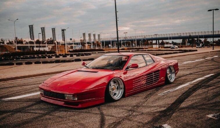 Ferrari Testarossa assetto ribassato