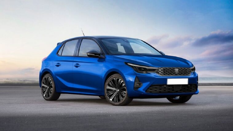 Fiat Argo base Opel Corsa render