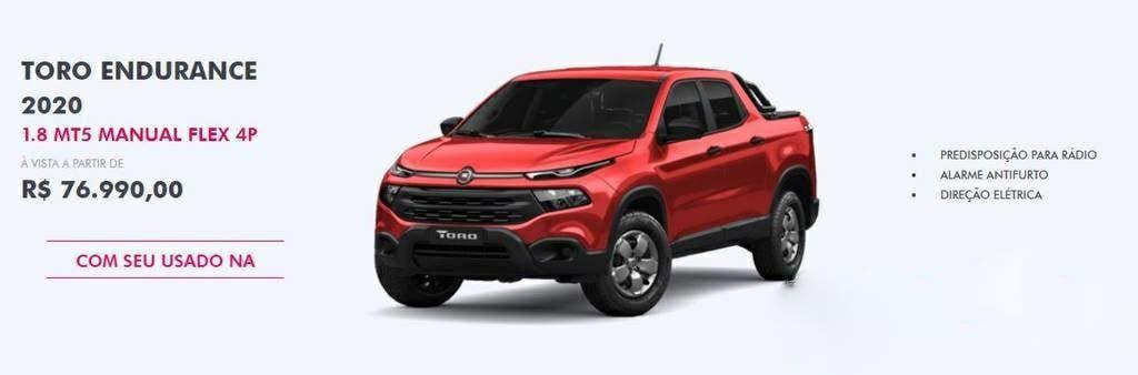 Fiat Toro promozione novembre 2019