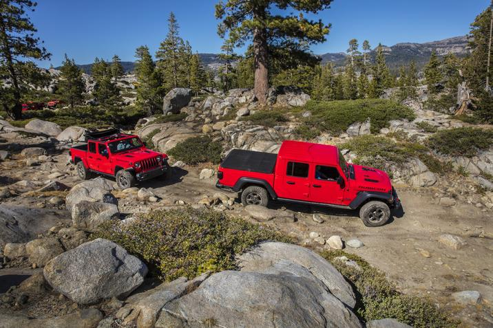 Jeep Gladiator 2020 Best Off-Road Vehicle 2019