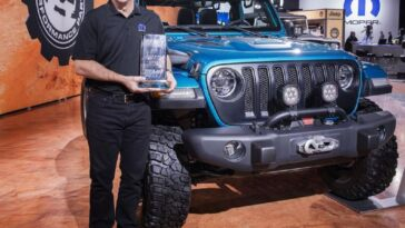 Jeep Wrangler 4x4/SUV of the Year 2019