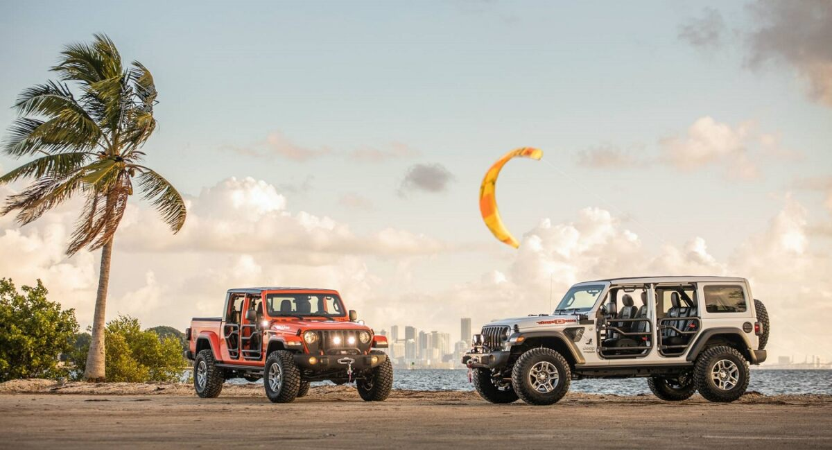 Jeep Wrangler e Gladiator Three O Five Edition