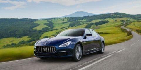 Maserati Quattroporte diesel Everywhere
