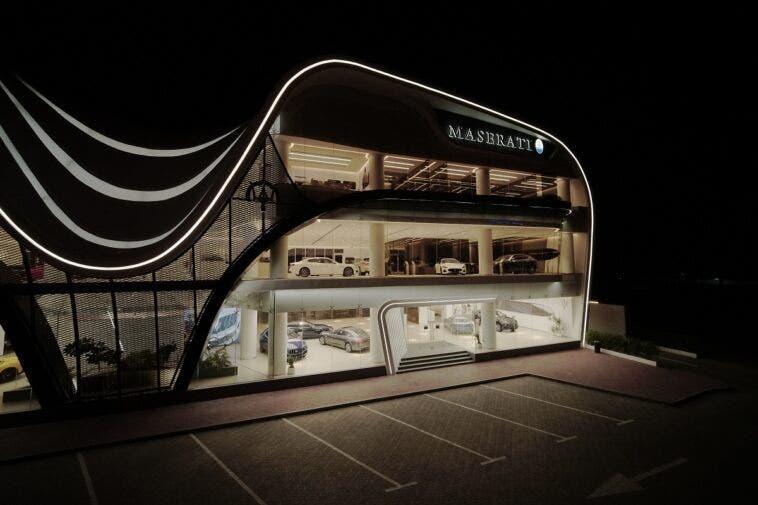 Maserati nuovo concessionario Dubai
