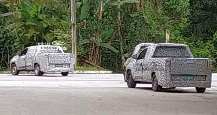 Nuovo Fiat Strada foto spia