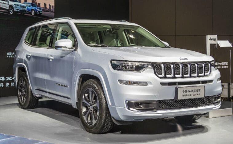 Nuovo Jeep Commander PHEV