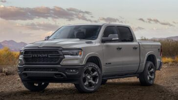 Ram Built to Serve Edition pick-up