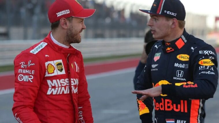Vettel e Verstappen
