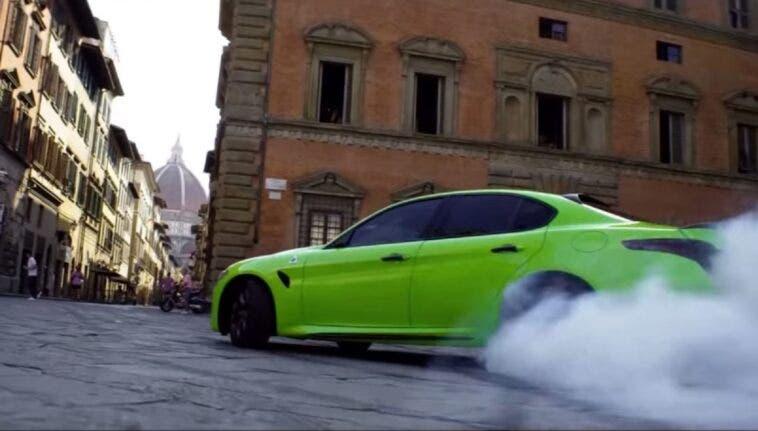 Alfa Romeo Giulia Verde Firenze