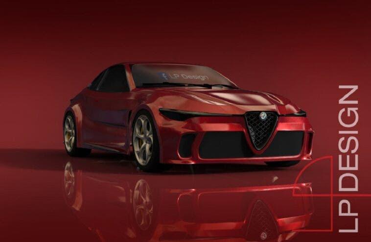 Alfa Romeo GTV render LP Design