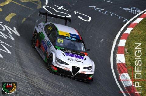 Alfa Romeo Giulia ETCR Romeo Ferraris LP Design
