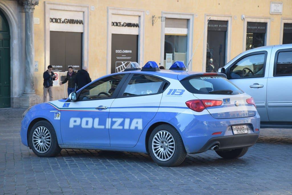 Alfa Romeo Giulietta Polizia