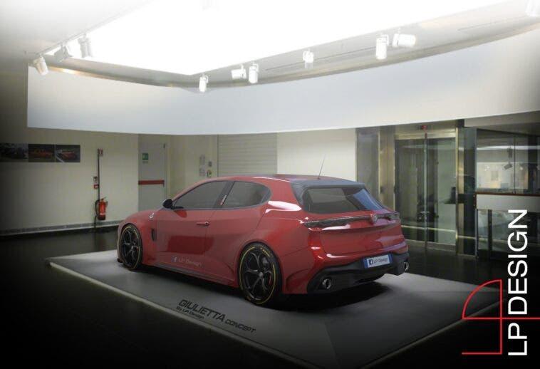 Alfa Romeo Giulietta QV render LP Design