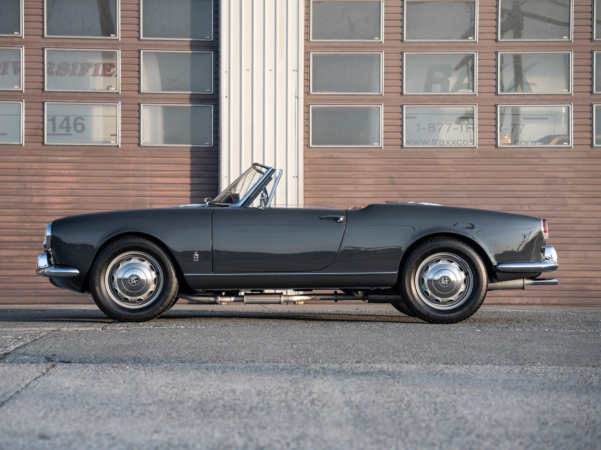 Alfa Romeo Giulietta Spider Veloce 1960 asta
