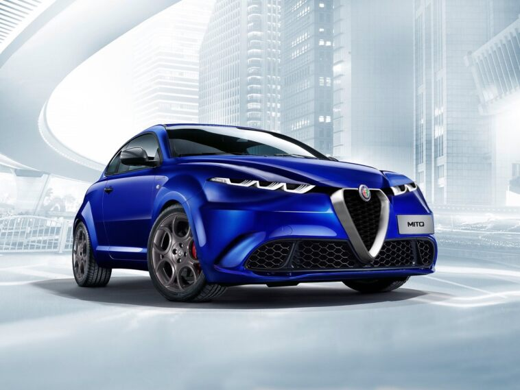 Alfa Romeo Mito 2020 render