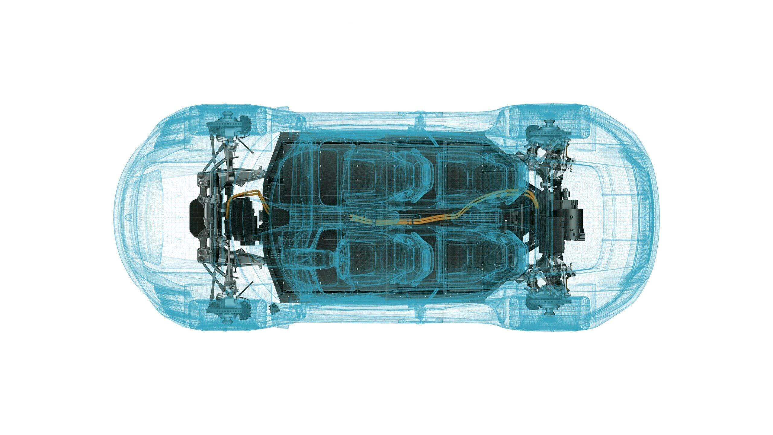 Auto elettriche batterie acqua di mare