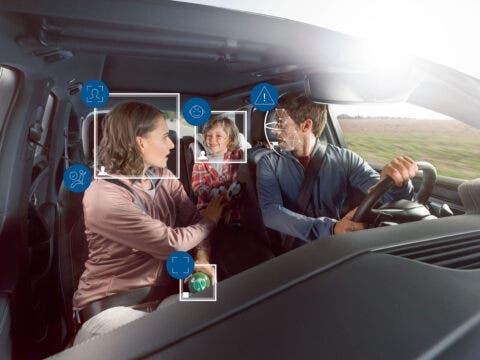 Bosch sistema di sicurezza abitacolo